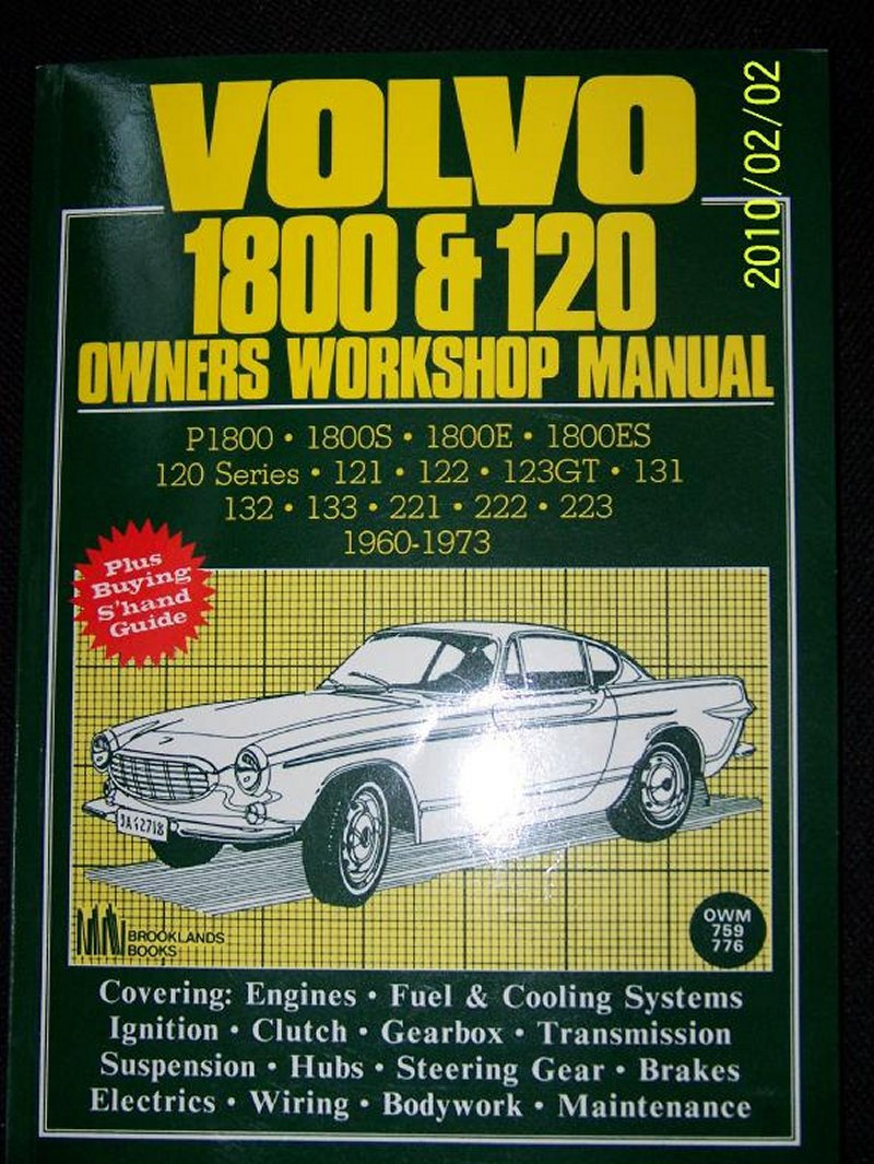 Books Volvo Amazon Wiring Reg Title 1800 120 Owners Workshop Manual