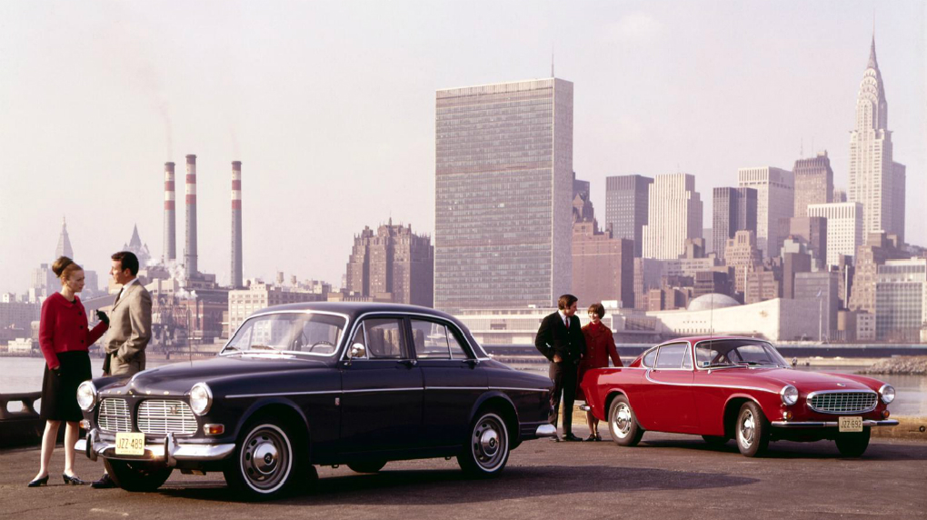 1966 - the volvo amazon favorit is introduced on some markets this year as  a more economic alternative to the standard edition (121) to compensate for  the